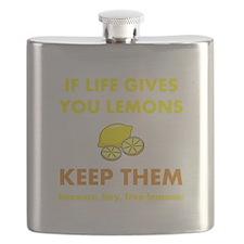 Keep Lemons Yellow.png Flask