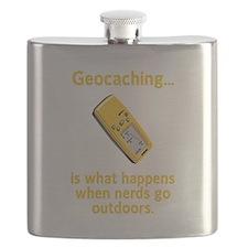 Geocaching Nerds Yellow.png Flask