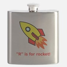 R is for rocket red.png Flask