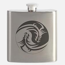 Dragon Ying Yang.png Flask