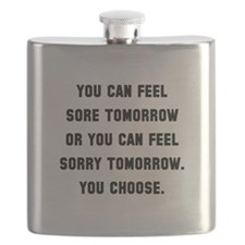 Feel Sore Or Sorry Black.png Flask