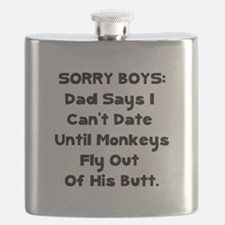 Sorry Boys Black.png Flask