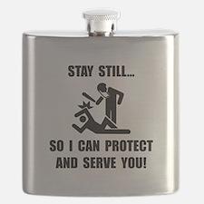 Protect Serve Black.png Flask