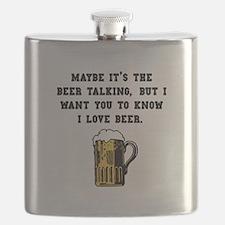 Beer Talking Black.png Flask