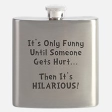 Funny Hurts Black.png Flask
