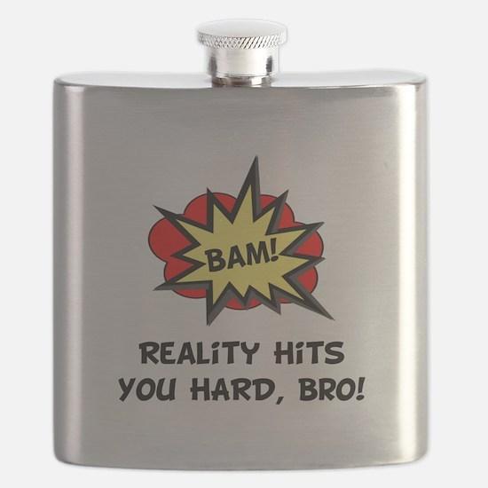 Reality Hits Hard Black.png Flask
