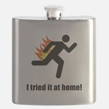 I Tried It At Home Black SOT.png Flask