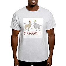 Llamas-D1-WhiteApparel T-Shirt