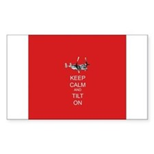 Keep Calm and Tilt On Decal