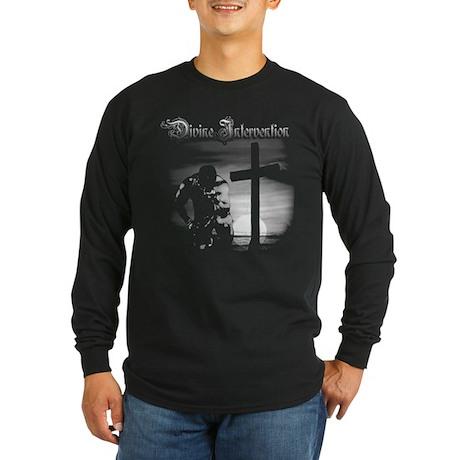 Divine Intervention Homage Long Sleeve Dark T-Shir