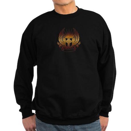 Divine Intervention Golden Wings Sweatshirt (dark)
