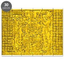 MAYAN TABLET OF THE SUN Puzzle