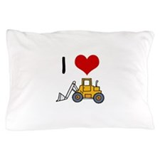 I Love Loaders Pillow Case