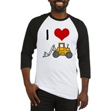 I Love Loaders Baseball Jersey