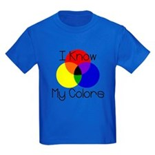 I Know My Colors T