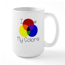 I Know My Colors Mug