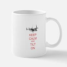Keep Calm and Tilt On (white) Mug