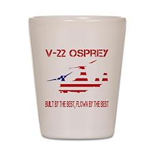 V-22 Osprey Shot Glass