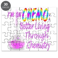 Im On Chemo Pink Puzzle