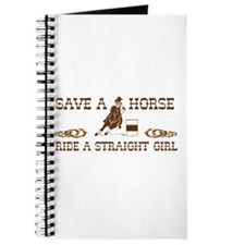 Ride a Straight Girl Journal