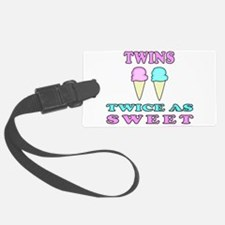 TWINS TWICE AS SWEET Luggage Tag