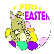 MY FIRST EASTER Round Car Magnet
