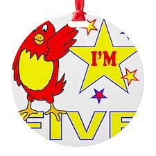 I'M FIVE Ornament