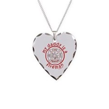 MY DADDY IS A FIREMAN Necklace