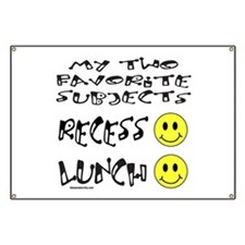 LUNCH AND RECESS Banner