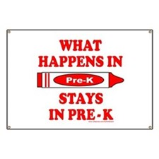 WHAT HAPPENS IN PRE-K Banner