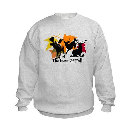 The Boys Of Fall Kids Sweatshirt