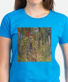 Klimt Farm Garden With Crucifix Tee