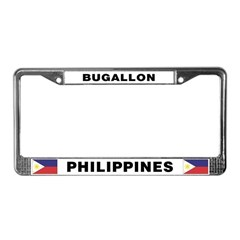 Bugallon Philippines License Plate Frame