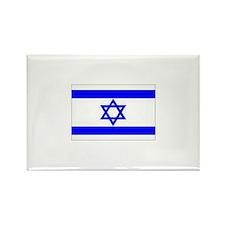 Israeli Flag Rectangle Magnet