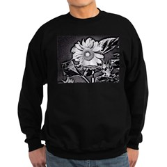 Sunflower at night Sweatshirt (dark)