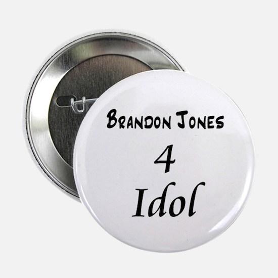 """Brandon Jones 4 Idol"" Button"