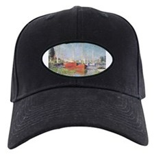 Red Boats at Argenteuil Baseball Hat