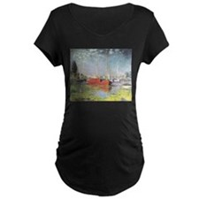 Red Boats at Argenteuil T-Shirt