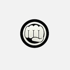 Fist of Goodness Mini Button