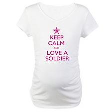 Keep Calm and Love a Soldier Shirt