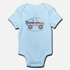 You're not driving a Jeep, are you? Infant Bodysui