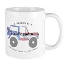 You're not driving a Jeep, are you? Mug