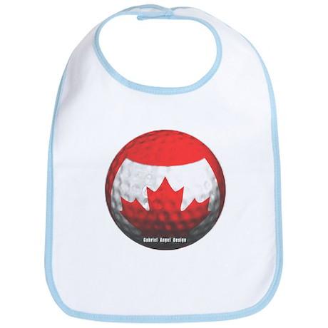 Canadian Golf Bib