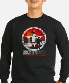 Soldier Code Steadfast and Strong T