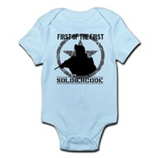 Soldier Code First of the First Infant Bodysuit