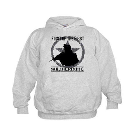 Soldier Code First of the First Kids Hoodie