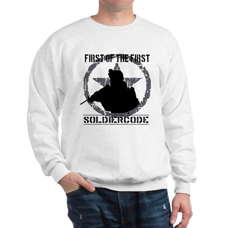 Soldier Code First of the First Sweatshirt