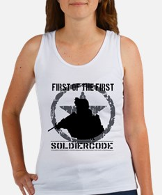 Soldier Code First of the First Women's Tank Top