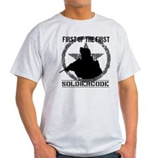 Soldier Code First of the First T-Shirt