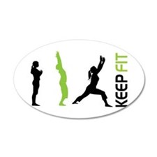 Keep Fit Wall Decal